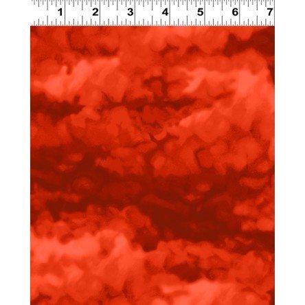 Misty - Tomato Fabric