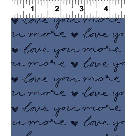 Pen Pal Love You More - Dark Denim