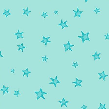 Bike Ride Stars - Light Aqua