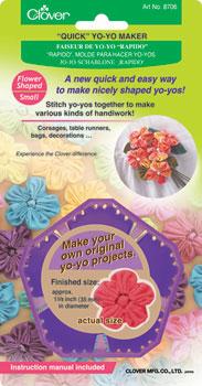 Quick Yo-Yo Maker Sm Flower