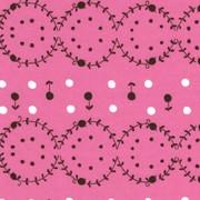 Woodland Pink Circles