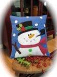 Holly Jolly Snowman Wool Felt Kit