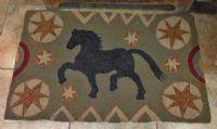 Antique Horse Rug/Monks