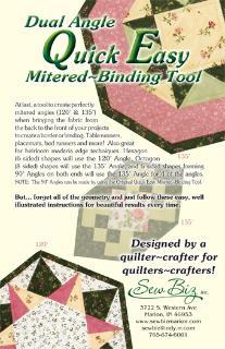 Dual Angle Binding Tool