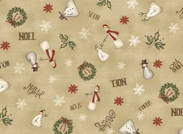 Christmas Whimsy 25208-Beige