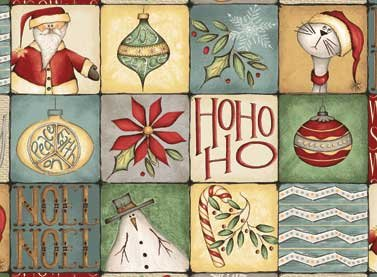 Christmas Whimsy 25209-Multi