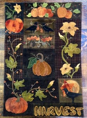 Harvest Wall quilt