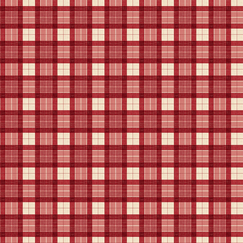 Evergreen Farm red Plaid