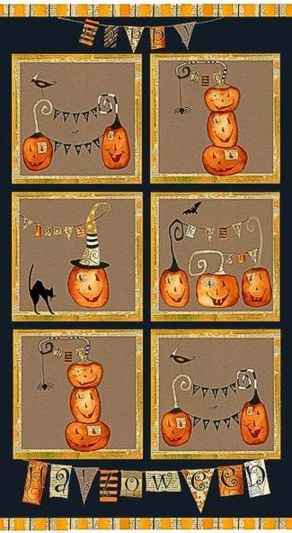 Cheeky Pumpkin Panel