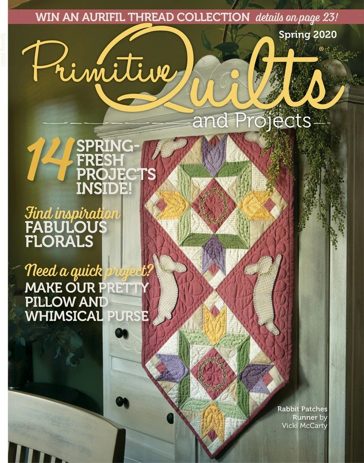 Primitive Quilts And Projects Spring 20