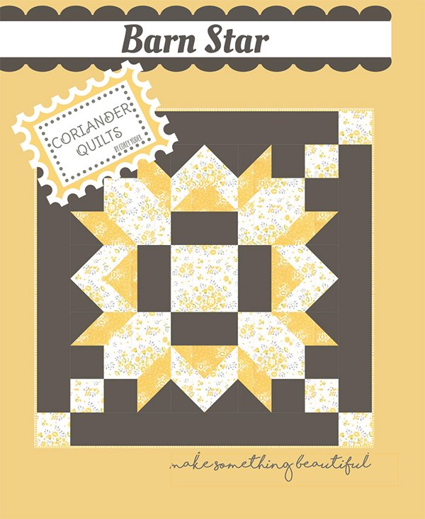 Barn Star Cotton Quilt Kit