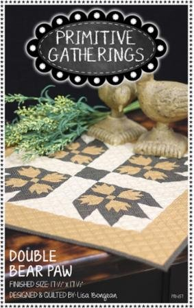 Double Bear Paw Quilt Kit