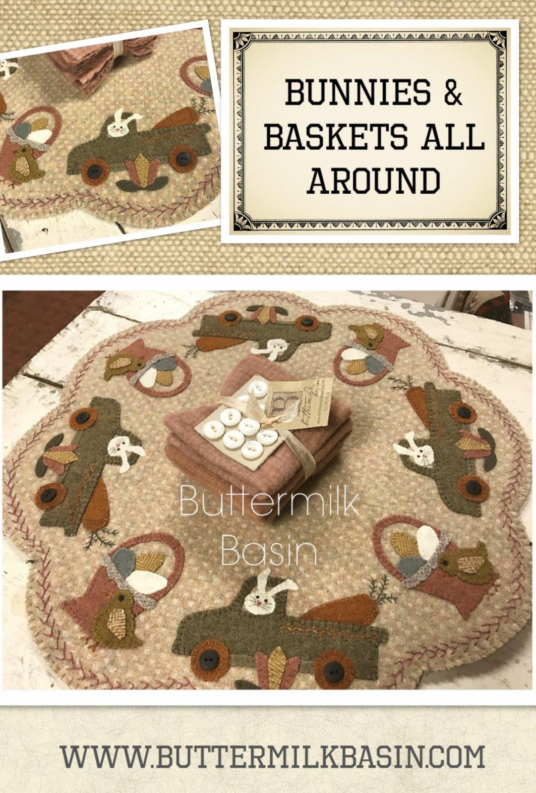 Bunnies & Baskets All Around