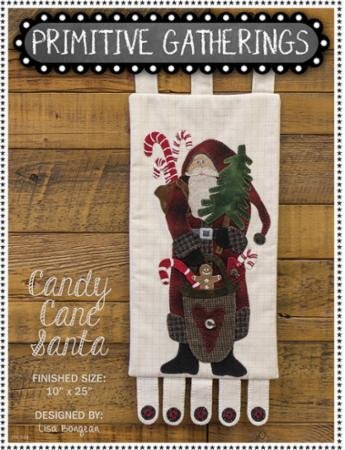 Candy Cane Santa Wool Kit