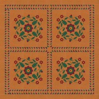 Christmas Rose Cotton/Wool Kit