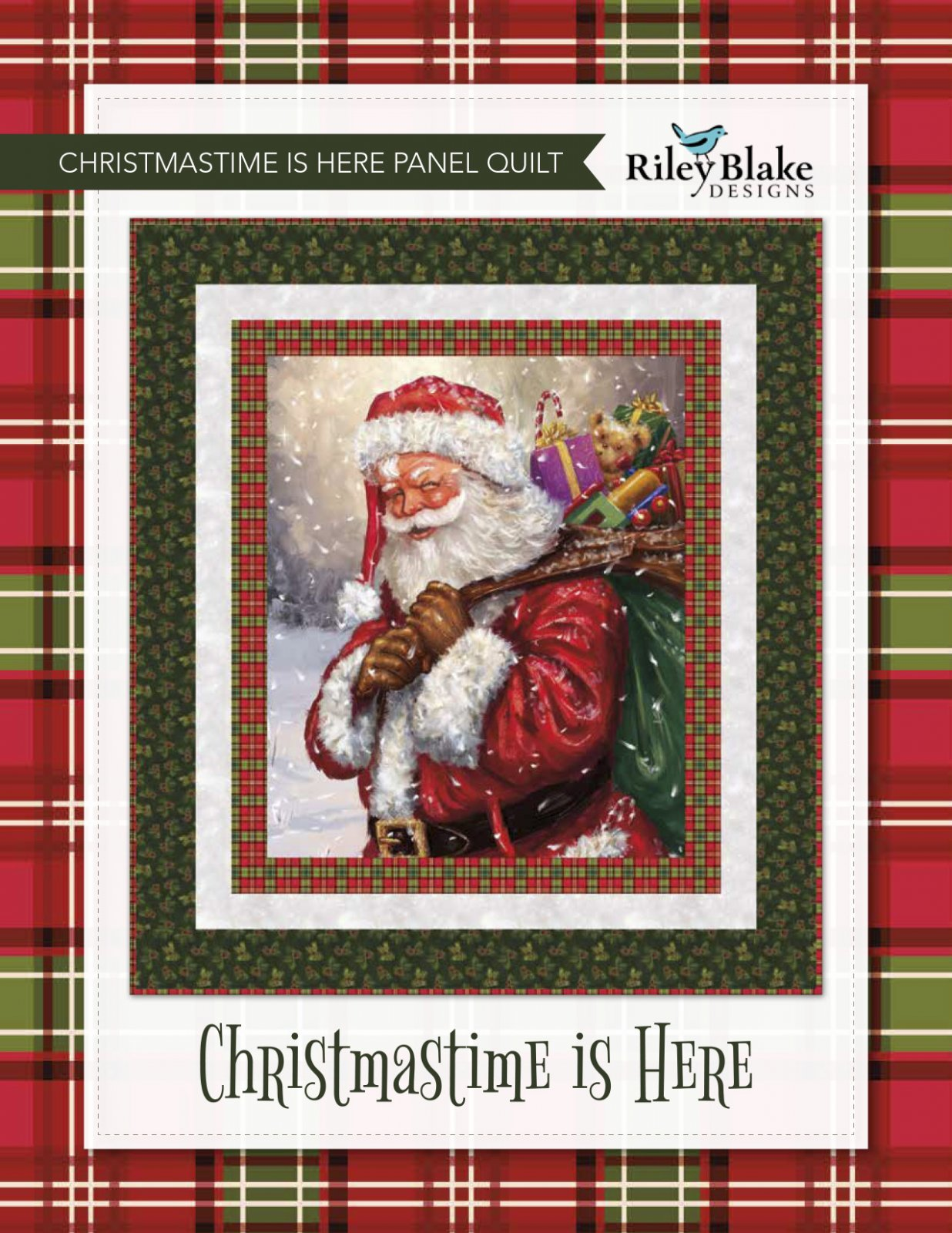Christmastime is Here Quilt Kit