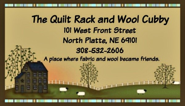 The Quilt Rack & Wool Cubby