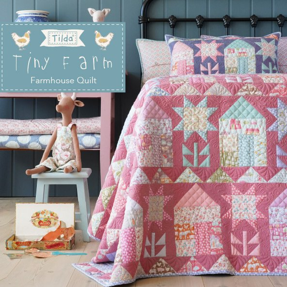 Tilda Farmhouse Quilt Kit