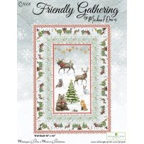 Friendly Gathering Wall Quilt Kit