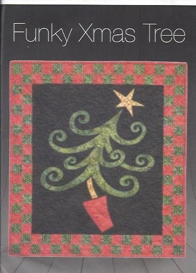 Funky Xmas Tree Quilt Kit