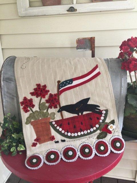 Grande Ole' Flag Wool Kit