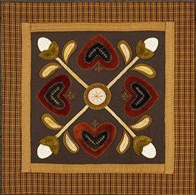 Heart Table Mat Cotton/Wool Kit