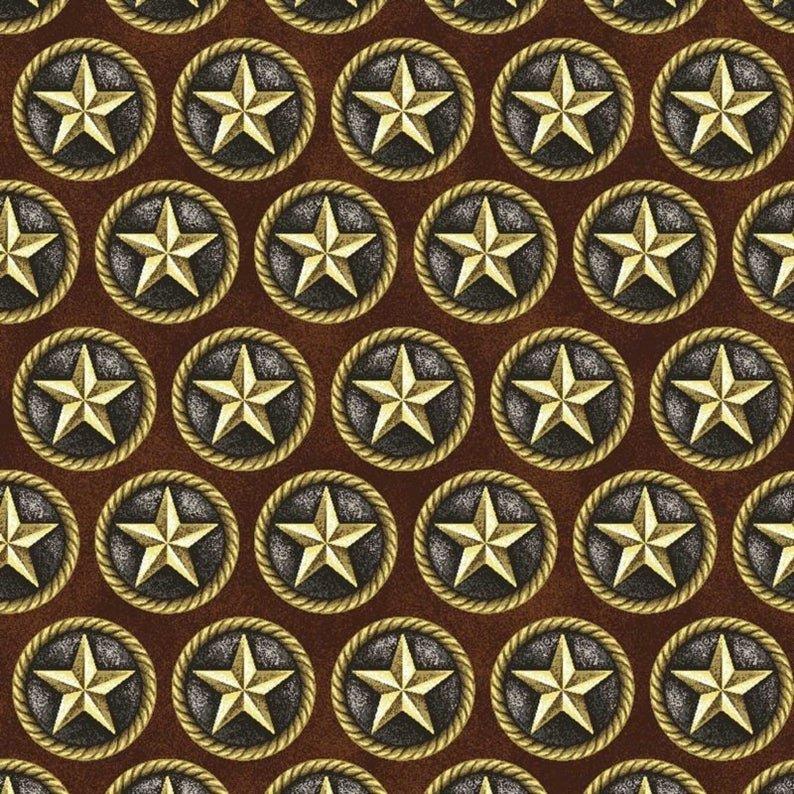 Cowgirl Spirit Stars Brown