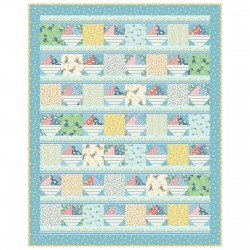 Ducks & Boats Cotton Quilt Kit