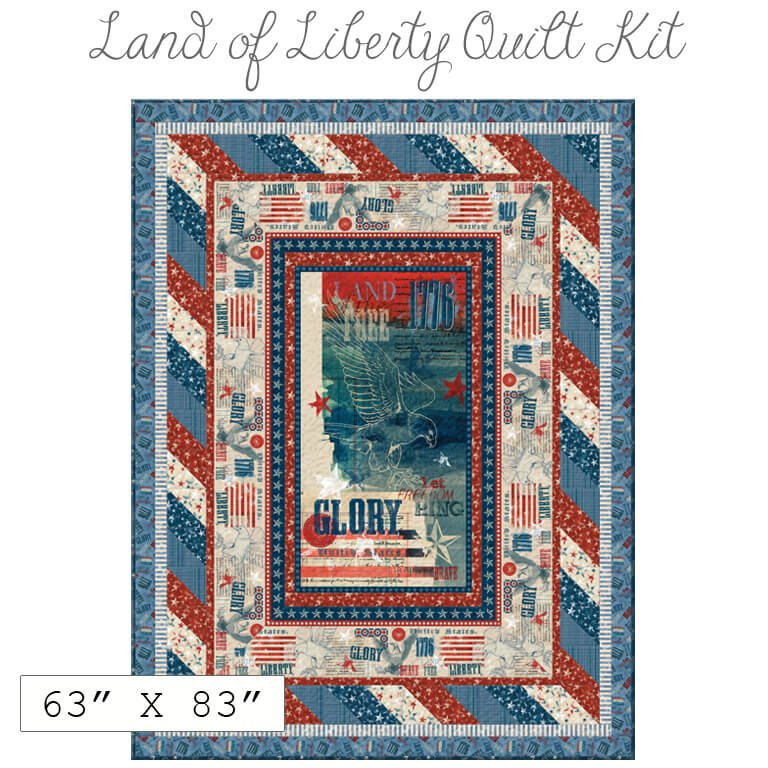 Land of Libery Quilt Kit