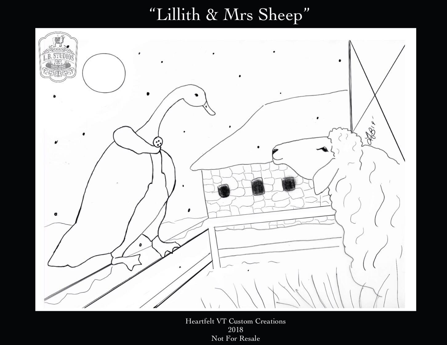 Lillith & Mrs. Sheep
