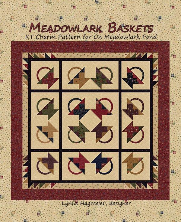 Meadowlark Baskets Quilt Kit