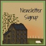 Sign up for the newsletter to The Quilt Rack & Wool Cubby