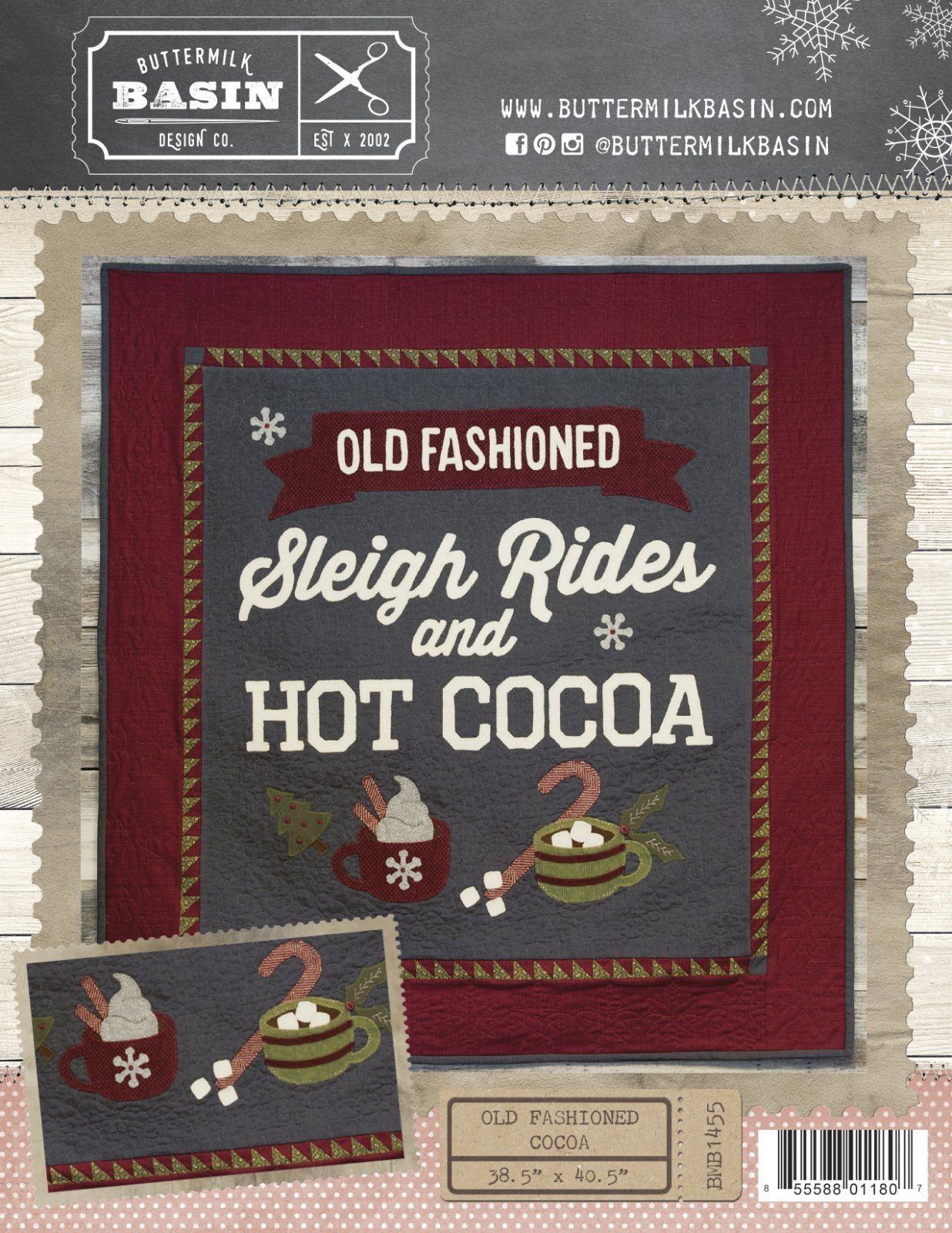Old Fashioned Cocoa Cotton & Wool Kit
