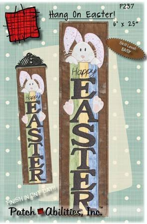 Hang On Easter Cotton Quilt Kit