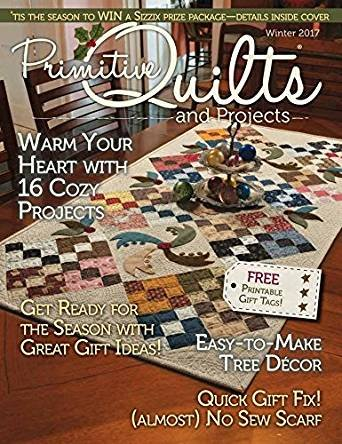 Primitive Quilts & Projects Winter 2017