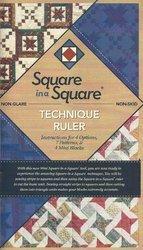 Mini sq in sq technique ruler