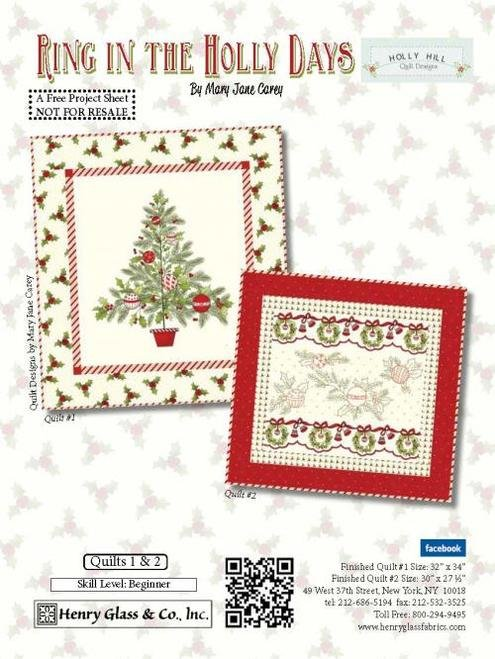 Ring in the Holly Days 2 Quilt Kit