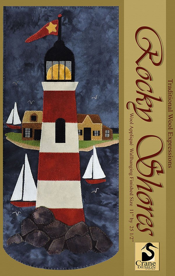 Rocky Shores Wool Applique Kit
