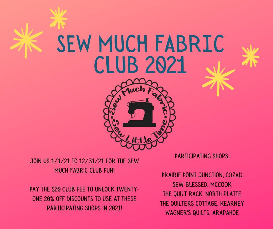 Sew Much Fun Fabric Club