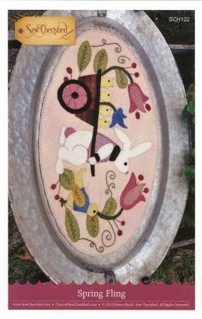 Spring Fling Wool Applique Kit
