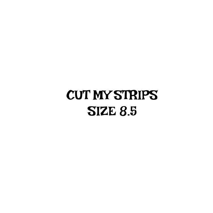 Wool Strip Cut Size 8.5  -$15
