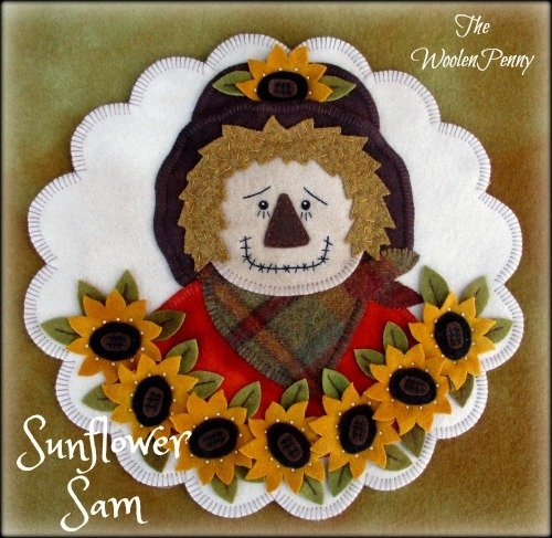 Sunflower Sam Wool Kit