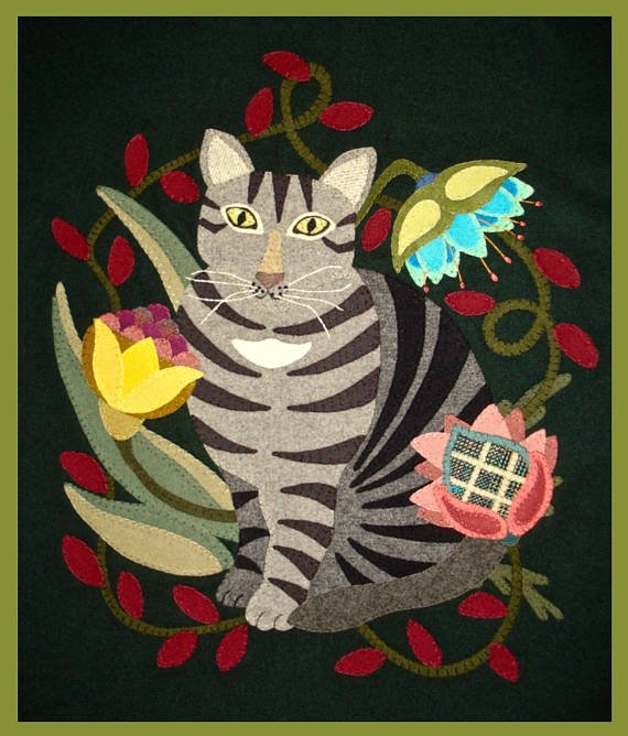 Victorian Tabby Wool Kit