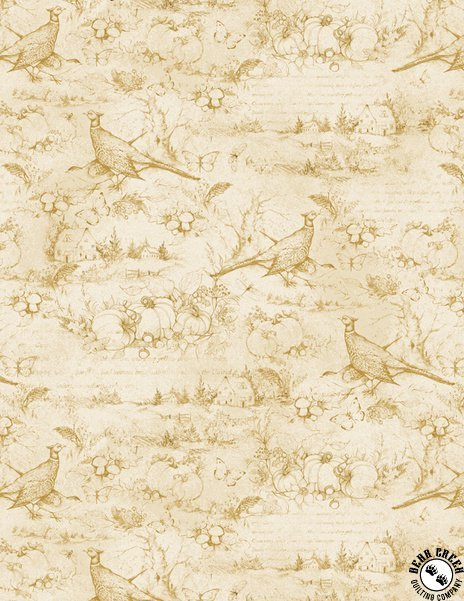 Seeds of Gratitude Tan Toile