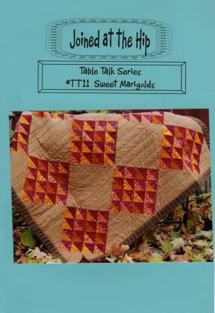 Sweet Marigold Quilt Kit