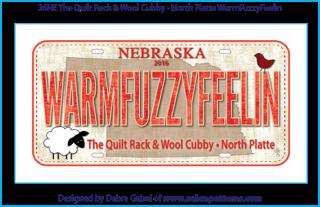 Mini Fabric Plate WARMFUZZYFEELIN 2016