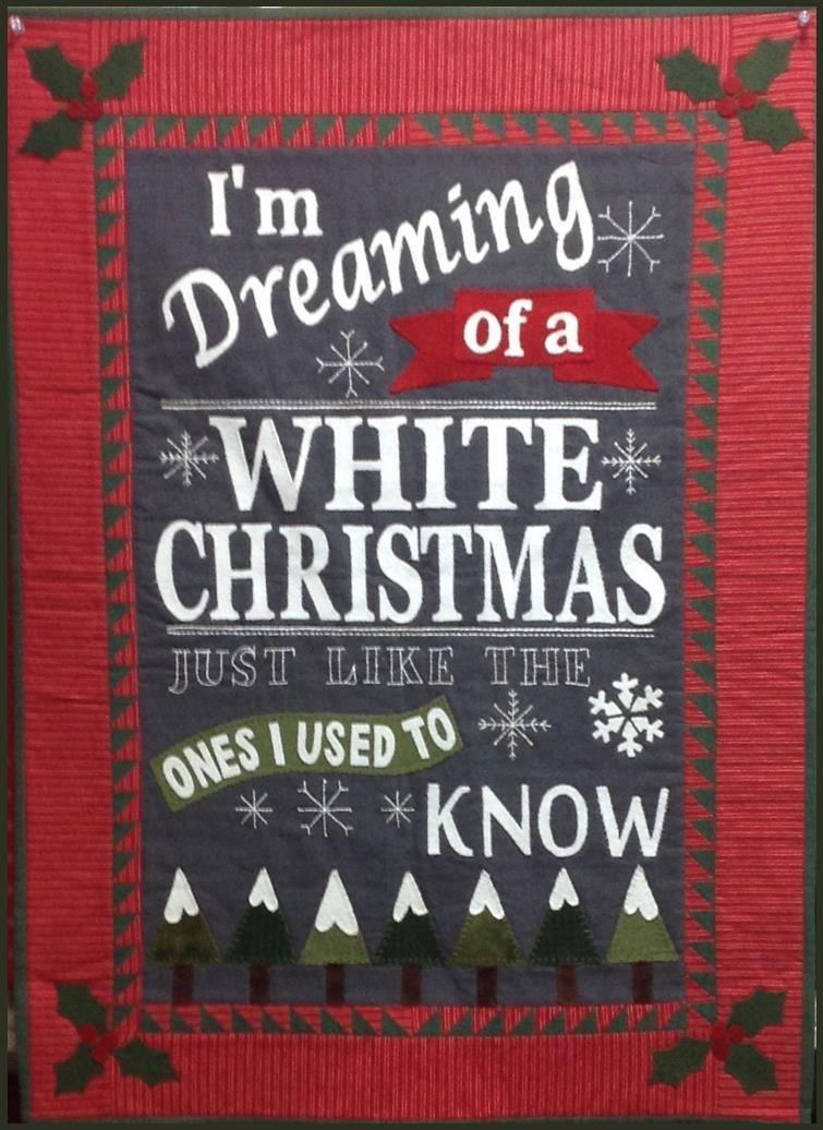 White Christmas Wool Kit