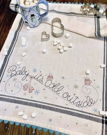 Baby It's Cold Outside Tea Towel Kit