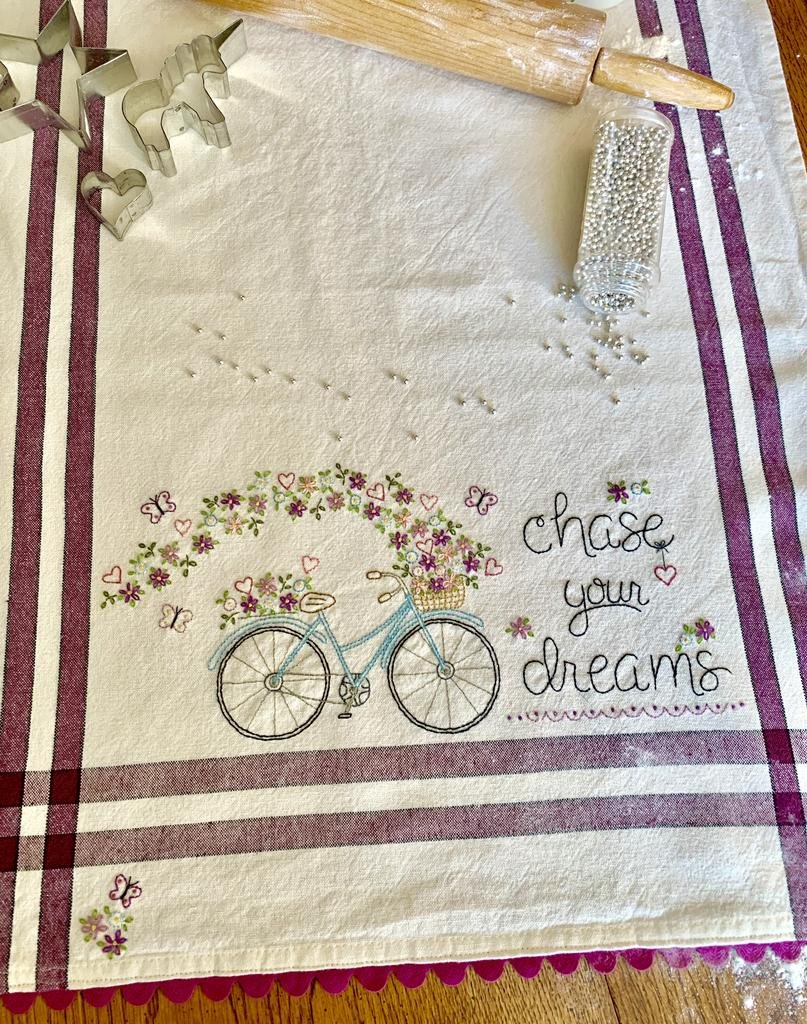 Chase Your Dreams Embroidery Pattern and Kit