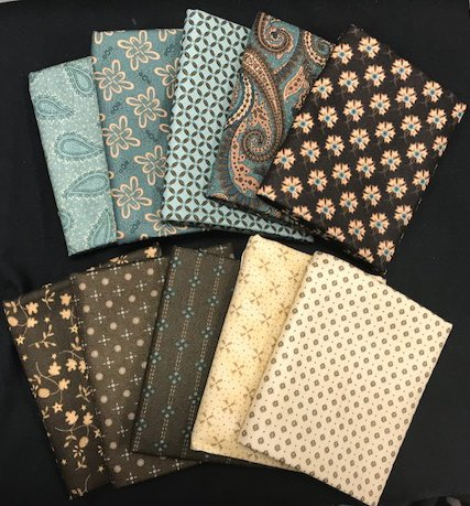 Fat Quarter Assortment from Fiddle Sticks and Fancies